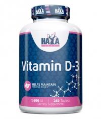 HAYA LABS Vitamin D-3 / 1600 IU / 250 Tabs