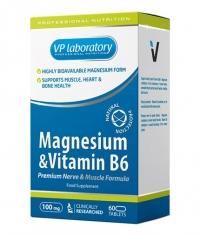 VPLAB VP Laboratory Magnesium & Vitamin B6 / 60 Tabs