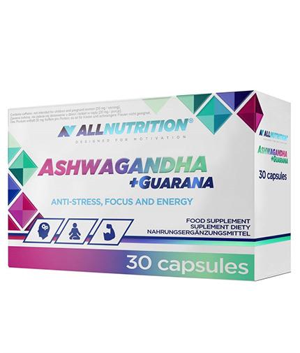 ALLNUTRITION Ashwagandha + Guarana / 30 Caps