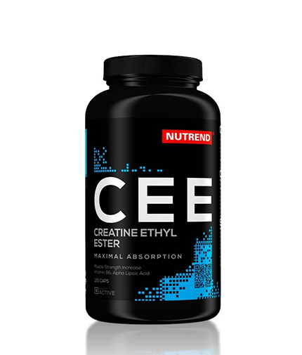 NUTREND Creatine Ethyl-Ester 500 mg. / 120 Caps.