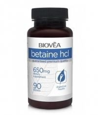 BIOVEA Betaine HCL 650 mg / 90 Tabs