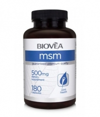BIOVEA MSM 500 mg / 180 Caps