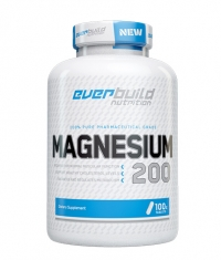 EVERBUILD Magnesium Citrate 200mg / 100 Tabs.