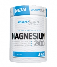 EVERBUILD Magnesium Citrate 200mg / 250 Tabs.