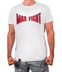 MAX FIGHT White T-shirt / Logo Camouflage