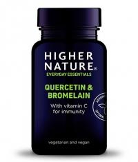 HIGHER NATURE Quercetin and Bromelain / 60 Tabs