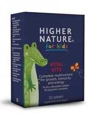 HIGHER NATURE Kids Vital Vits / 30 Tabs