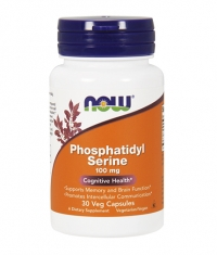 NOW Phosphatidyl Serine 100mg. / 30 Caps.