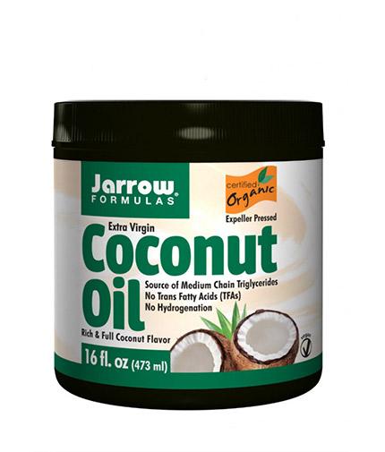 Jarrow Formulas Coconut Oil Extra Virgin / 473 ml