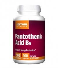 Jarrow Formulas Pantothenic Acid B5 500 mg / 100 Caps