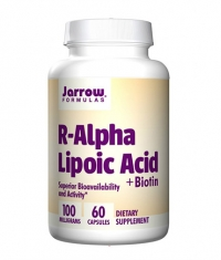 Jarrow Formulas R-Alpha Lipoic Acid + Biotin / 60 Caps