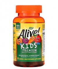NATURES WAY Alive! Kid's Premium Multivitamin Gummy / 90 Gummies