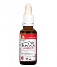 NATURAL FACTORS Liquid Vitamin K2 + A + D3 / 30 ml