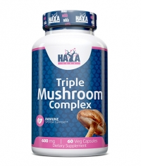 HAYA LABS Triple Mushroom Complex / 60 Vcaps