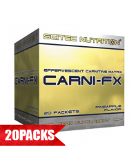 SCITEC Carni-FX 20 Packs.