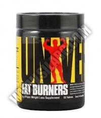 UNIVERSAL Easy-To-Swallow Fat Burners 55 Tabs.
