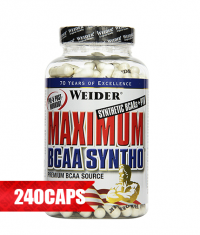 WEIDER Maximum BCAA Syntho 240 Caps.