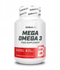 BIOTECH USA Mega Omega 3 / 90 Softgels