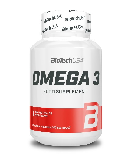 BIOTECH USA Omega 3 1000 mg. / 90 Caps.