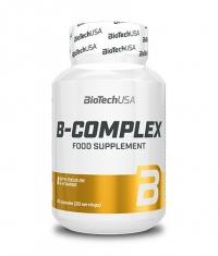 BIOTECH USA Vitamin B-Complex 60 Tabs.