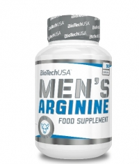 BIOTECH USA Men's Arginine / 90 Tabs.