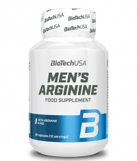 BIOTECH USA Men's Arginine / 90 Caps.