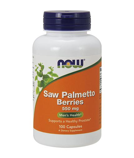 NOW Saw Palmetto 550mg. / 100 Caps.
