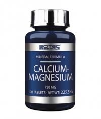 SCITEC Calcium Magnesium 100 Tabs.