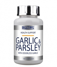 SCITEC Garlic & Parsley 100 Caps.
