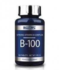 SCITEC Vitamine В-Complex 100 Tabs.