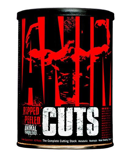 UNIVERSAL ANIMAL Animal Cuts 42 Packs