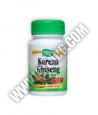NATURES WAY Korean Ginseng Root 50 Caps.