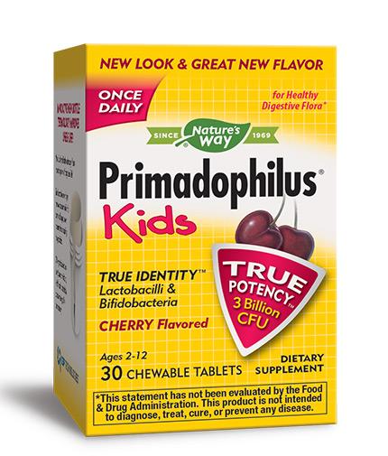 NATURES WAY Primadophilus Kids / 30 Chewables