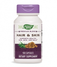 NATURES WAY Hair & Skin 100 Caps.