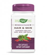 NATURES WAY Hair & Skin 100 Caps.