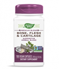 NATURES WAY Bone, Flesh & Cartilage 480mg / 100 Caps.