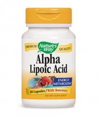 NATURES WAY Alpha Lipoic Acid 60 Caps.