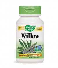 NATURES WAY White Willow Bark 100 Caps.