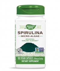 NATURES WAY Spirulina Micro-Algae 100 Caps.