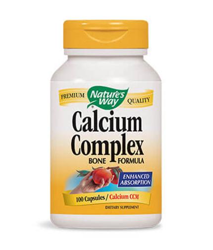 NATURES WAY Calcium Complex Bone Formula 100 Caps.
