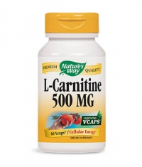 NATURES WAY L-Carnitine 500mg / 60 Vcaps.