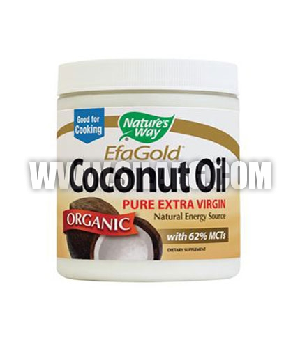 NATURES WAY EfaGold Coconut Oil
