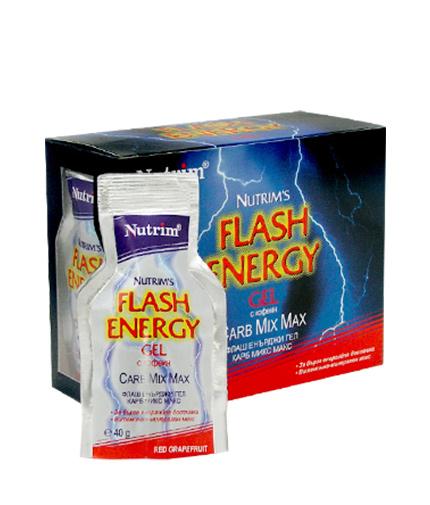 NUTRIM Flash Energy Gel 10 Packs