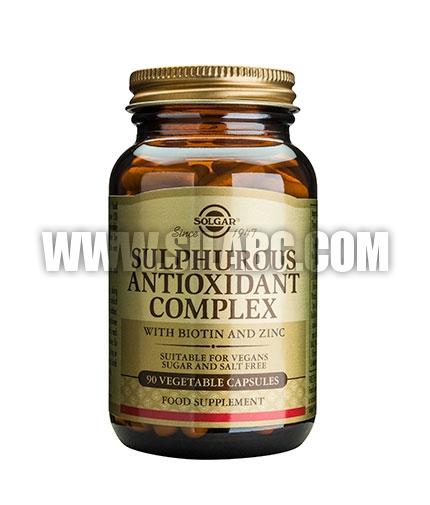SOLGAR Sulphurous Antioxidant Complex 90 Caps.