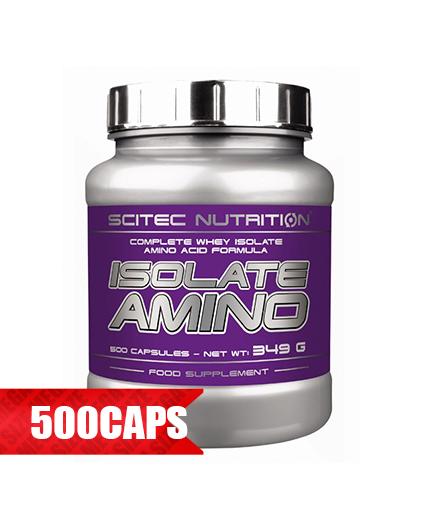 SCITEC Isolate Amino 500 Caps.