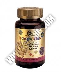 SOLGAR Kangavites Multivitamin for Children / 60tabs