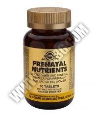 SOLGAR Prenatal Nutrients 60 Tabs.