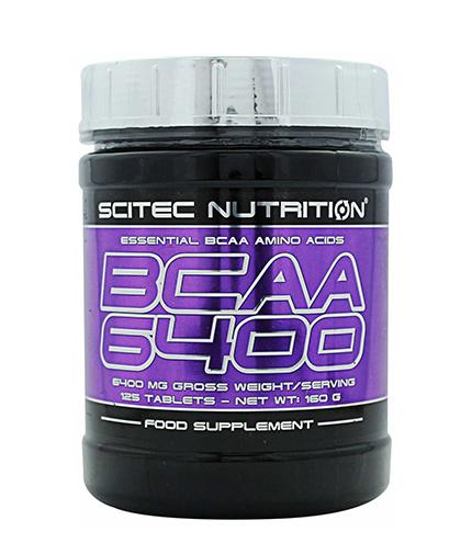 SCITEC BCAA 6400 / 125 Tabs.
