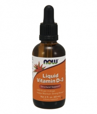 NOW Liquid Vitamin D-3 / 60 ml.