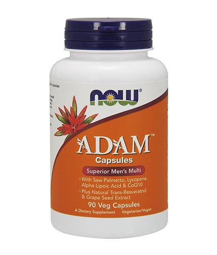 NOW ADAM™ Superior Mens Multiple / Vitamin 90 VCaps.